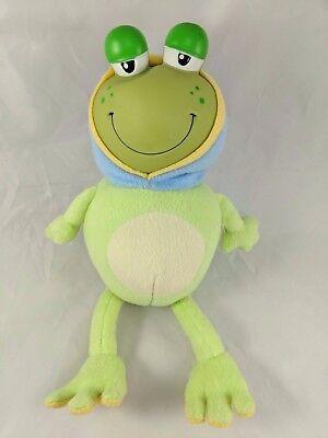 Nuby Glow Frog Plush 13