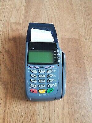 Verifone Vx 510 Credit Card Machine Omni 3730 Le. No Power Cords