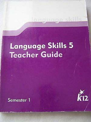 K12 Language Skills 5 Teacher Guide Semester 1