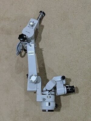 Carl Zeiss Opmi Mdu Optical Head W0-180 Binocul F250 Objective For Microscope