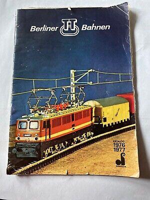 Berliner TT Bahnen - Katalog Modellbahn-Katalog von 1976/1977 gebraucht kaufen  Cottbus