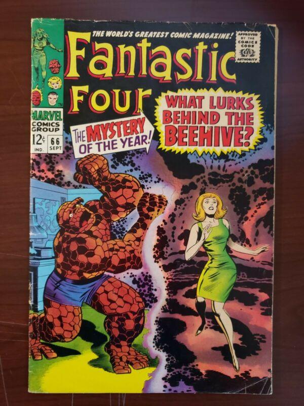 Fantastic Four #66 - Nice Grade - Origin Of HIM / WARLOCK