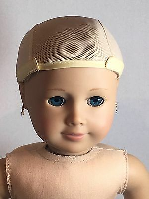 Doll Wig cap 10-11  Fits American Girl Madame Alexander (#1)
