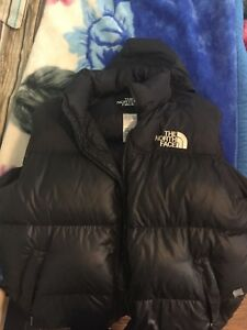 North face 700 bubble vest size large
