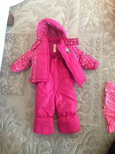 12 month girls snowsuit 2 piece