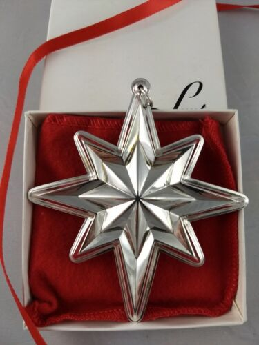 1994 Lunt 1st Star Sterling Silver Christmas Ornament New, Unused, w/Box and Bag