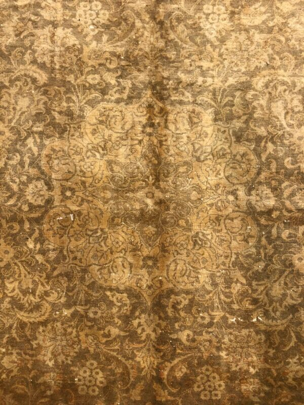 Fantastic Floral - 1930s Antique Oriental Rug - Handmade Carpet - 9.8 X 13 Ft
