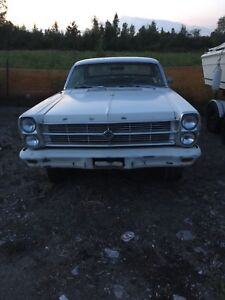 1966 Ford fairlane 500 southern car rolling project