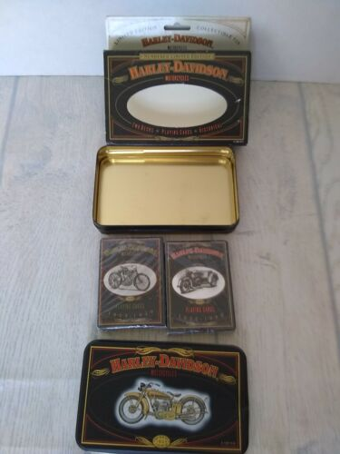 Harley Davidson Collectable Limited Edition 2 Decks Unused