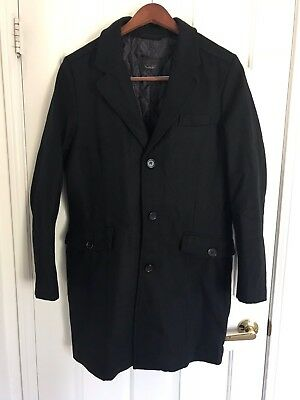 Great Zara Mens Jacket, Size L, Wool for sale  Indio