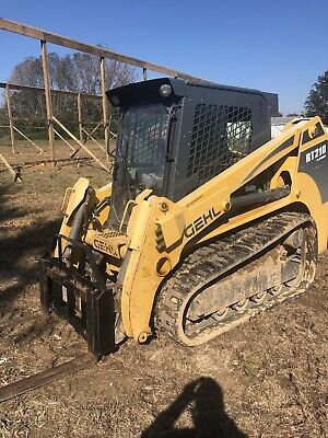 2011 Gehl Rt210 Skid Steer Track Loader Cab Heat High Flow