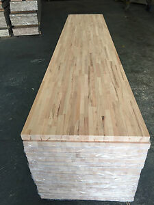 Solid Beech Wood Worktops 3m x 620mm x 38mm Super Bargain £89 Only! Clearance