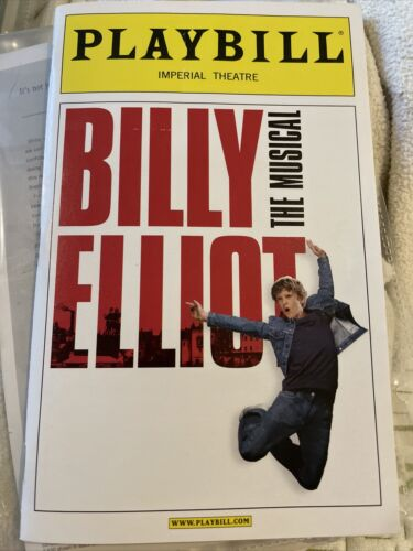 Feb 2008 Playbill Billy Elliot The Musical Santino Fontana At Imperial Theatre - $18.00