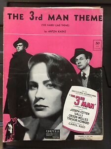 Sheet Music - the 3rd man theme ( the harry lime theme) (c) '49