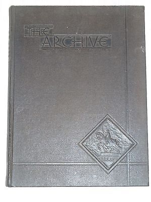 1933, THE ARCHIVE, ST. LOUIS UNIVERSITY, ST. LOUIS MISSOURI YEARBOOK ANNUAL