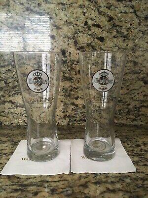 Warsteiner Pint Beer Glasses (2)