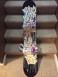 Women's Snowboard, Bindings & Boots