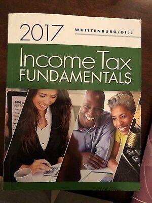 Income Tax Fundamentals 2018 By Gerald E  Whittenburg  Martha Altus Buller