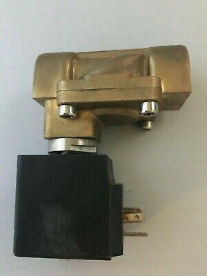 12 12v Dc Electric Brass Solenoid Valve Water Air Gas 12 Volt