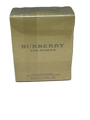 BURBERRY 50ML EDP SPRAY - FOR  WOMEN, BRAND NEW, SEALED