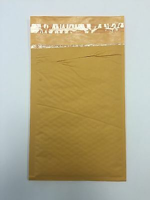 200 1 7.25x12 Imperfect Kraft Bubble Mailers Padded Envelop 7.25x12