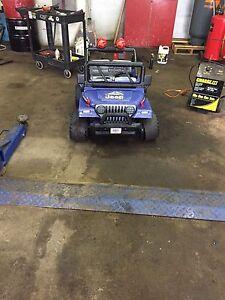 Cherche pieces pour Jeep power wheels