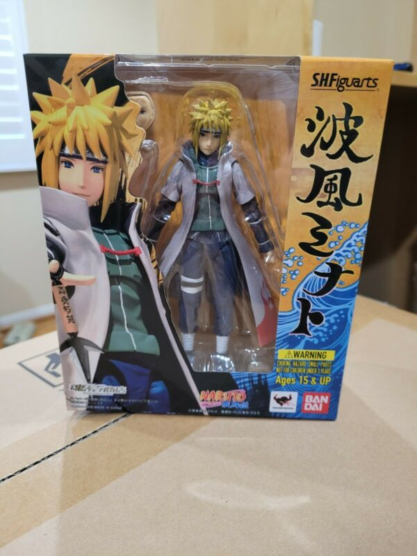 Bandai SH Figuarts Naruto Namikaze Minato Action Figure Authentic New Sealed
