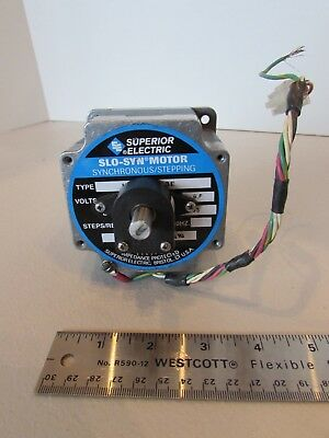 Superior Electric Motor Motor Slo-syn Stepping Encoder E2-500-375-igh Nema 34 Us