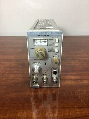 Tektronix Sg504 Leveled Sine Wave Generator Plug In For Tm500 Tm5000
