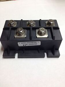 MDS200A 3-Phase Diode Bridge Rectifier 200A Amp 1600V 1 PC FL USA