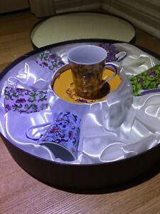 Tea set 6pcs hand decorated!