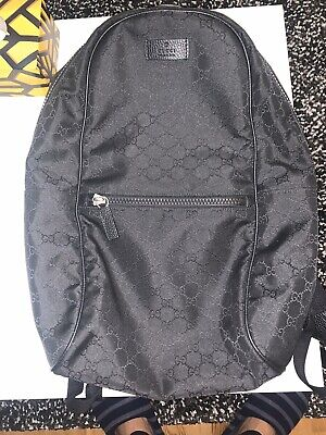 gucci backpack authentic