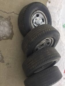 Dodge 1500 rims and tires for sale