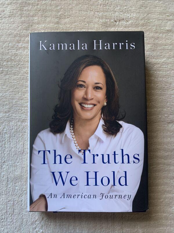 Kamala Harris Signed Autographed Hard Cover Book The Truths We Hold JSA LOA READ