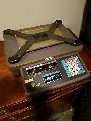 Digi Dc-190 Digital Counting Scale W 50lbs Weighing Platform