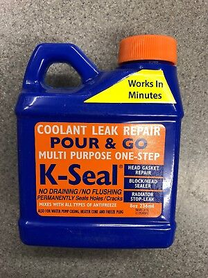 K-Seal Permanent Coolant Leak Repair for Cooling Systems Head Gaskets Radiators ()