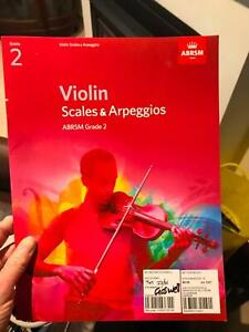 Violin scales grade 2 ABRSM O'Connor North Canberra Preview