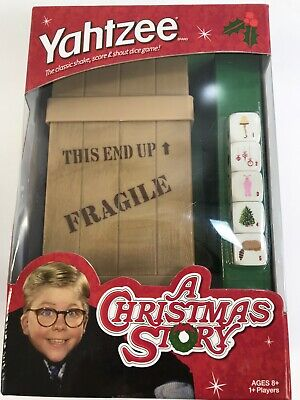 USAopoly Yahtzee A Christmas Story Edition Dice Game ()