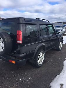 For Sale ~ Black Land Rover Discovery
