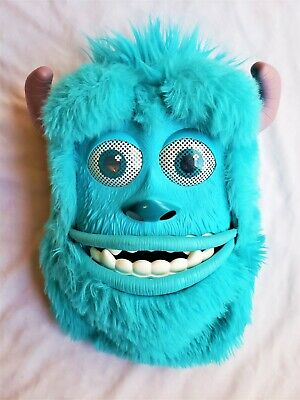 Monsters Inc Sully Mask Halloween Costume Child Unisex Pixar Disney Blue