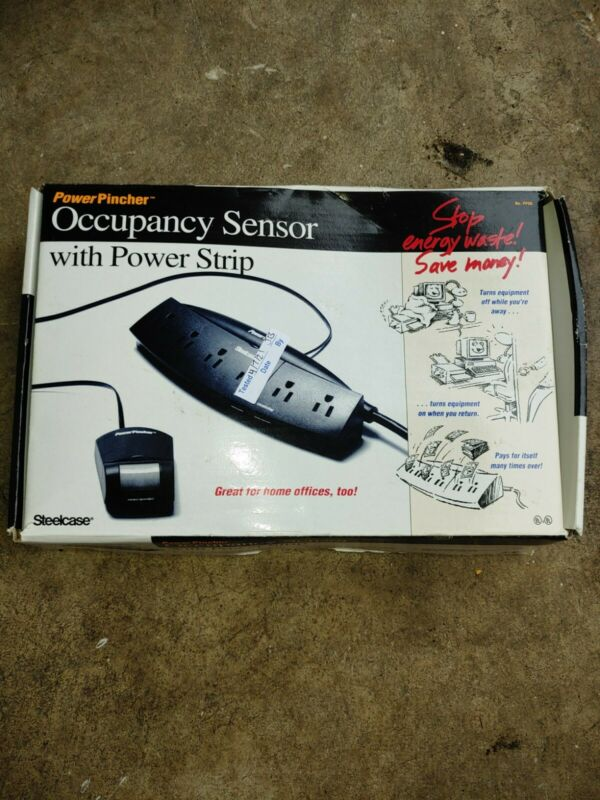Steel case Occupancy Sensor With Power Strip