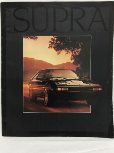 Vintage! Original 1983 Toyota Supra Celica Sales Brochure Literature
