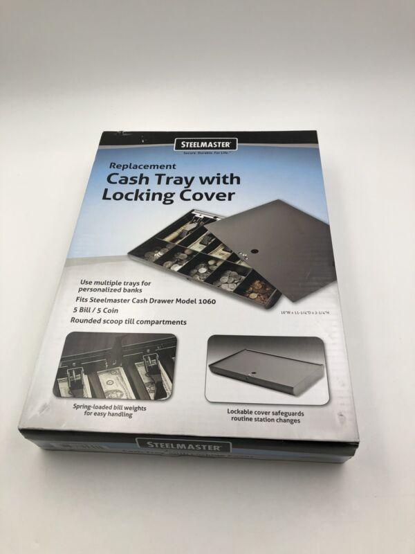 SteelMaster 2252862C04 Cash Drawer Replacement Tray  Black