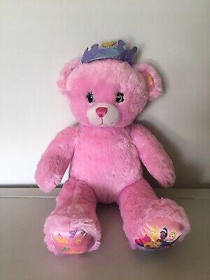 Build A Bear Workshop Disney Princess Teddy