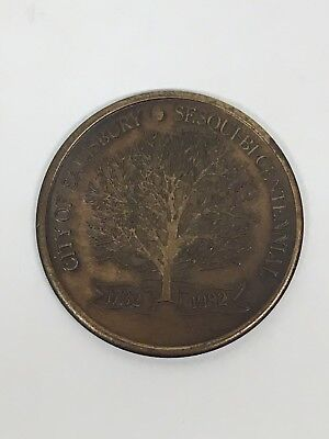 Vintage Coin City of Salisbury Maryland Sesqui bicentennial 1732-1982 - City Of Salisbury Md
