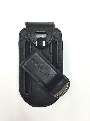 Samsung U360 Gusto Leather Fitted Phone Case with Swivel Belt Clip Verizon
