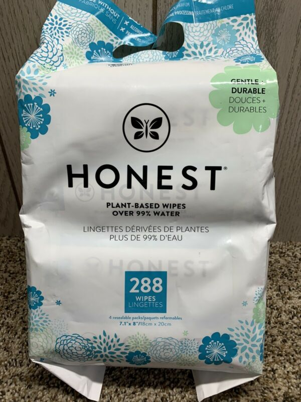 Honest Company 288 Count Wipes.
