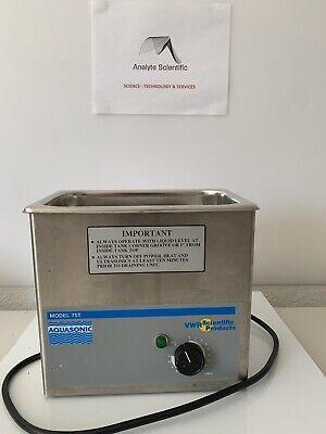 Vwr 75t Aquasonic Cleaner 9 X 5.5 X 4