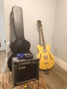 Epiphone John Lennon Casino + Essentials (amp cord not included)