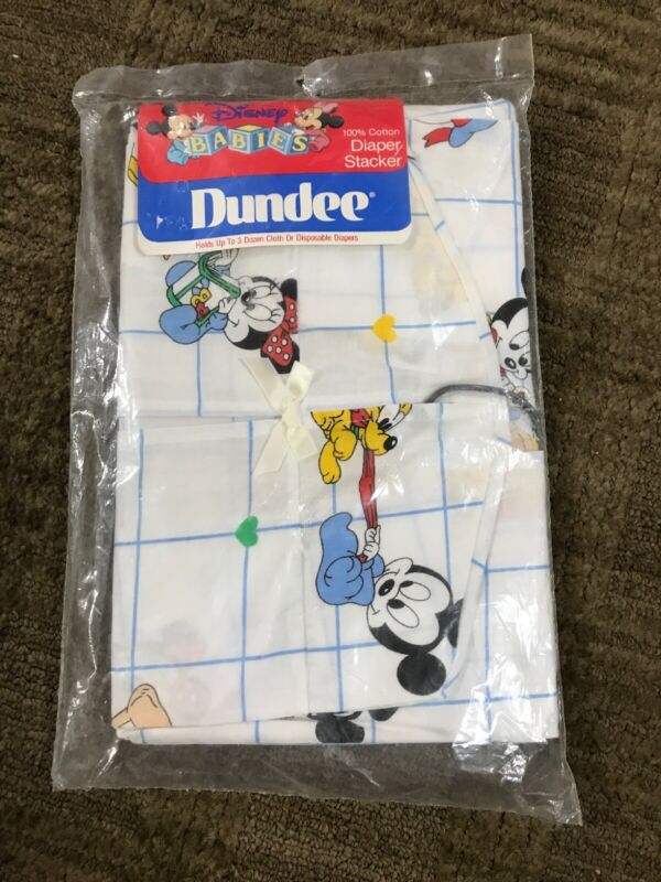 1984 Disney Babies Dundee Diaper Stacker Vintage New